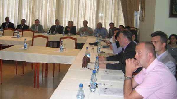 Erste trilaterale Kooperationsveranstaltung zwischen den Grenzpolizeien Montenegros, Albaniens und Kosovos in Becici Montenegro